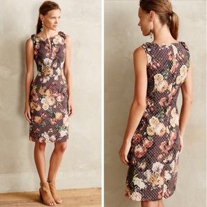 Quilted Tema Dress Tabitha for Anthropologie NWOT